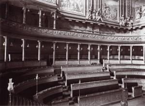 Torino, Palazzo Madama, aula del Senato, vista del lato nord, 1923. © Soprintendenza per i Beni Architettonici e Paesaggistici per le province di Torino, Asti, Cuneo, Biella, Vercelli.