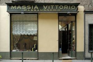 Passamanerie Massia Vittorio, vista esterna, Fotografia di Marco Corongi, 2001 ©Politecnico di Torino