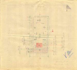 Bombardamenti aerei. Censimento edifici danneggiati o distrutti. ASCT Fondo danni di guerra inv. 149 cart. 3 fasc. 38. © Archivio Storico della Città di Torino