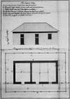 Progetto redatto da Carlo Antonio Bussi per il nuovo magazzino delle polveri, ca. 1753 (Archivio Storico della Città di Torino, Sicurezza pubblica).