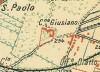 Cascina Giusiana. Istituto Geografico Militare, Pianta di Torino e dintorni, 1911, © Archivio Storico della Città di Torino