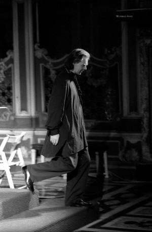 SettembreMusica 1995, Il sassofonista Jan Garbarek in San Filippo. Fotografia di Lorenzo Avico 1995. Archivio fotografico MITO SettembreMusica - Archivio storico della città di Torino