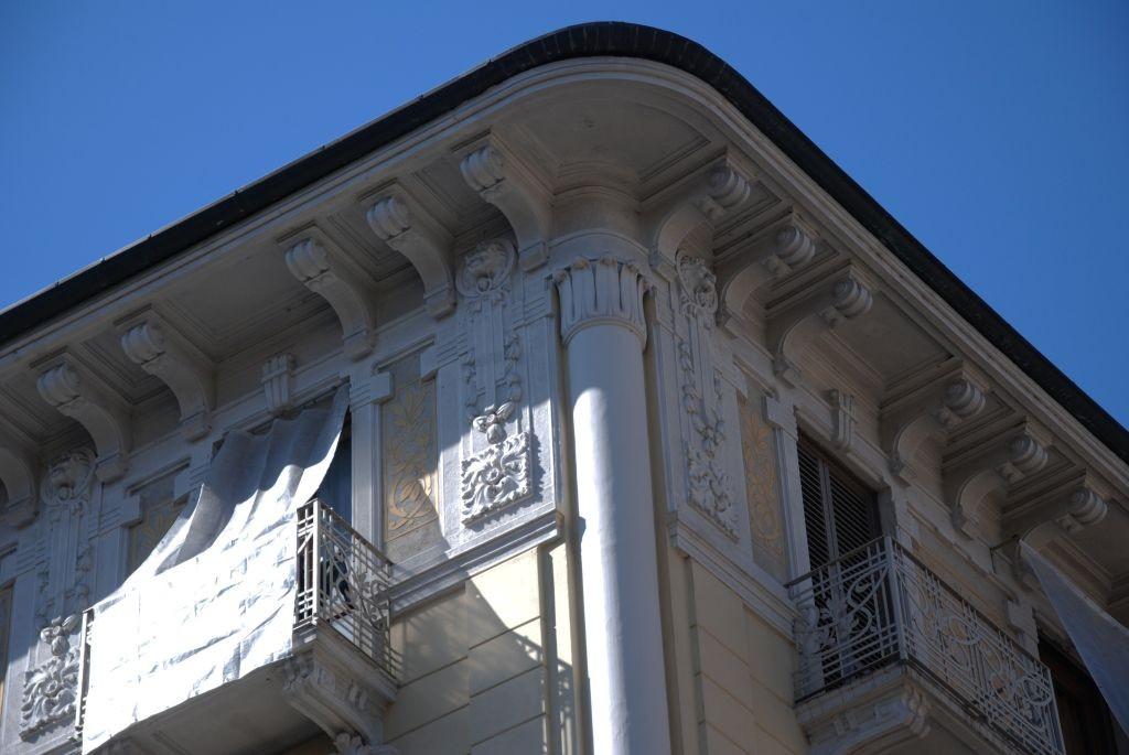 Casa di abitazione corso vercelli 107 museotorino - Cornicione casa ...