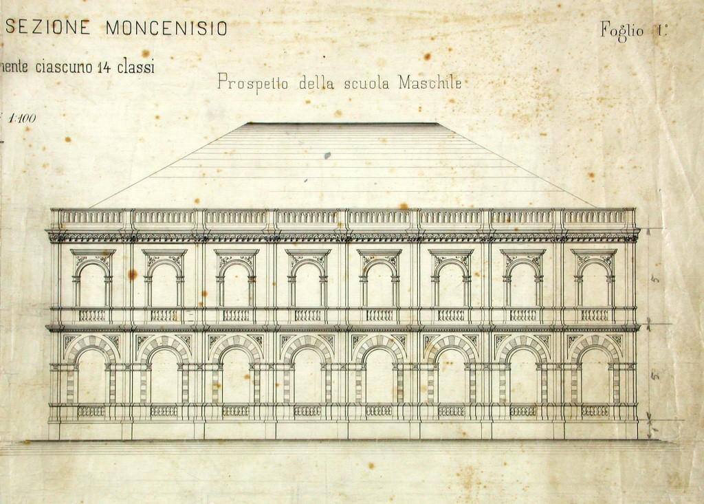 Edilizia scolastica museotorino for Piano di costruzione dell edificio