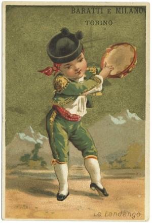 Cartolina pubblicitaria Baratti e Milano, s.d. © Archivio Srorico della Città di Torino (NA, 2107)