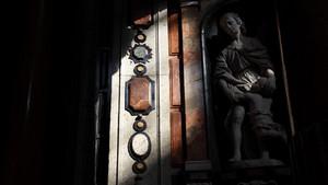 Marmi policromi della chiesa di San Lorenzo. Fotografia diPaolo Mussat Sartor e Paolo Pellion di Persano, 2010. © MuseoTorino