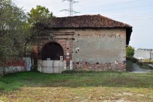 Particolare della cascina Cravetta. Fotografia di Ilenia Zappavigna, 2012.