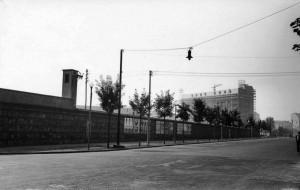 Cinta Officine Grandi Riparazioni OGR e cantiere Uffici Fiat, anni Sessanta? © Archivio Storico Città Torino (FT 12C01_009)