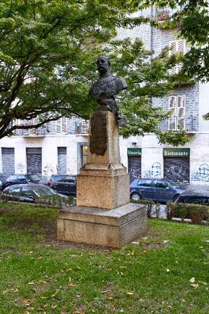 Odoardo Tabacchi, Monumento a Salvatore Pes di Villamarina, 1887. Fotografia di Mattia Boero, 2010. © MuseoTorino.