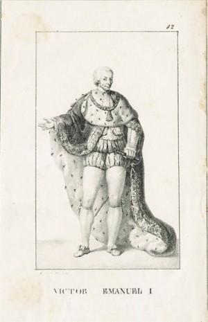 Vittorio Emanuele I di Savoia (Torino, 1759 - Moncalieri, Torino, 1824)
