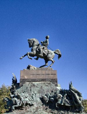 Davide Calandra, Monumento ad Amedeo di Savoia duca d'Aosta, 1902. Fotografia di Mattia Boero, 2010. © MuseoTorino.