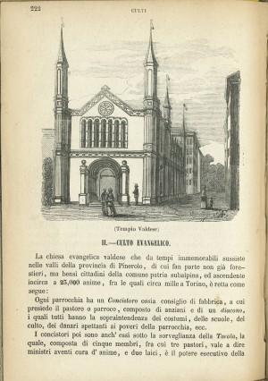 Tempio Valdese, da