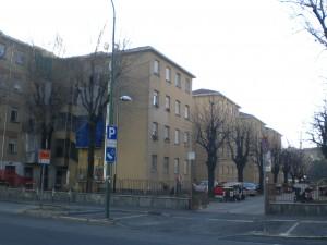 Veduta del complesso da via Biglieri. Fotografia di Maria D'Amuri, 2011. © MuseoTorino