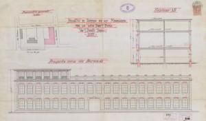 Progetto Concerie Fiorio © Archivio Storico della Città di Torino