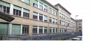 Scuola elementare Vittorino da Feltre. Facciata e rampa d'ingresso. © Archivio della scuola