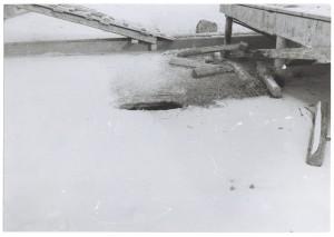 Corso Giovanni Agnelli. Fiat Mirafiori. Effetti prodotti dai bombardamenti del 4-5 dicembre 1940. UPA 0941D_9A01-60. © Archivio Storico della Città di Torino
