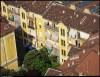 Veduta aerea di alcuni caseggiati del 1o Quartiere IACP. Fotografia di Michele D'Ottavio, 2011. © MuseoTorino
