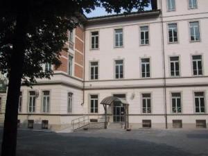 La facciata della scuola. © Archivio della scuola