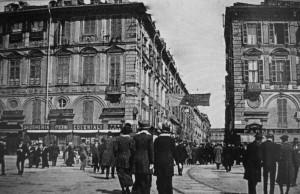 Piazza San Carlo, anni Venti circa © Archivio Storico della Città di Torino