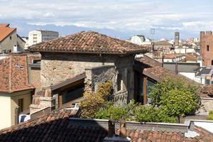 Torre medievale di casa del Pingone. Fotografia di Marco Saroldi, 2010. © MuseoTorino