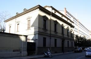 Palazzina uffici della Direzione Territoriale d'Artiglieria in via Confienza. Fotografia di Caterina Franchini
