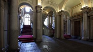 L'atrio di Palazzo Barolo. Fotografia di Paolo Mussat Sartor e Paolo Pellion di Persano, 2010. © MuseoTorino