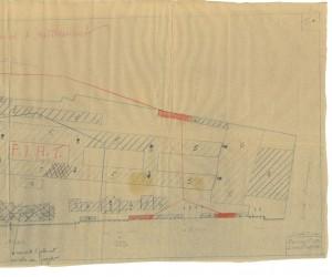 Bombardamenti aerei. Censimento edifici danneggiati o distrutti. ASCT Fondo danni di guerra inv. 2271 cart. 45 fasc. 50 seconda parte. © Archivio Storico della Città di Torino