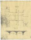 Progetto di ampliamento del Ponte Ramello realizzato nel 1924. © Archivio Storico Città di Torino