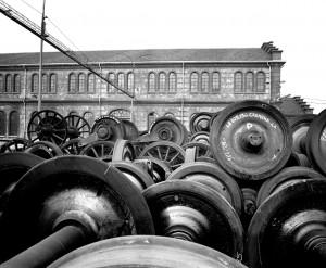OGR. Parco Sale Montate, 1992. Fotografia Pier Paolo Viola. © Museo Ferroviario Piemontese per MuseoTorino