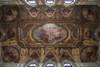 L'affresco di Gonin che decora il soffitto della Sala del Parlamento del Museo nazionale del Risorgimento italiano. Fotografia di Fabrizia Di Rovasenda, 2010. © MuseoTorino.