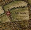 Cascina Bellacomba. Carta Topografica della Caccia, 1760-1766 circa. © Archivio di Stato di Torino