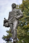 Giacomo Ginotti, Monumento a Carlo Nicolis di Robilant (particolare della statua, veduta frontale), 1894-1899. Fotografia di Mattia Boero, 2010. © MuseoTorino.