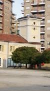 Torre colombaia posta all'angolo Est della cascina Giajone. Fotografia di Edoardo Vigo, 2012.