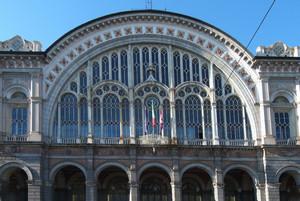 Stazione di Porta Nuova, 1861-1868. Fotografia di Fabrizia Di Rovasenda, 2010. © MuseoTorino