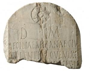 Epigrafe funeraria dalla Cittadella