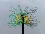 "Luci d'Artista Piero Gilardi ""L'albero del PAV"""
