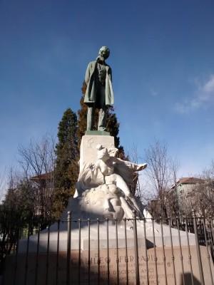 Luigi Contratti, Monumento a Galileo Ferraris, 1903. Fotografia, 2020