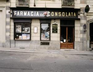 Farmacia della Consolata, esterno, Fotografia di Marco Corongi, 2001 ©Politecnico di Torino