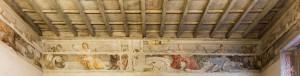 Casa Siccardi, soffitto e affresco di Domenico Guidobono. Fotografia di Michele Vacchiano, 2016 © Biblioteche civiche torinesi