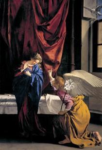 Orazio Lomi detto il Gentileschi, Annunciazione, Galleria Sabauda © Soprintendenza per i Beni Storici, Artistici ed Etnoantropologici del Piemonte
