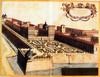 Il Bastion Verde e la cortina muraria riplasmata da Vitozzi, 1607, in Theatrum Sabaudiae.