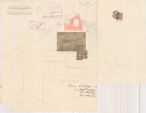 Ex Magazzino M.Ar.Di.Chi. Progetto di ampliamento dell'ingegner Giovanni Chevalley, planimetria generale (ASCT, Progetti Edilizi)