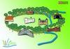 Il sistema delle residenze sabaude toccate dalla Corona Verde. © Regione Piemonte