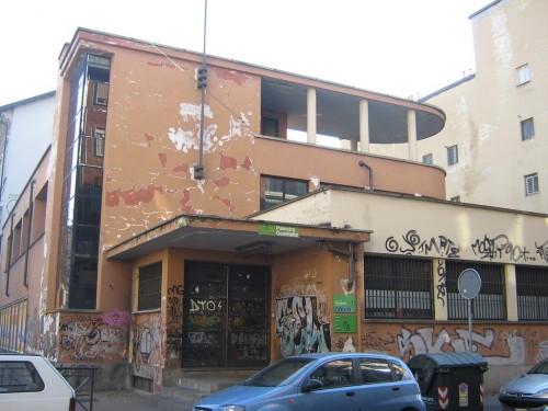 Mt scheda ex casa rionale del balilla di borgo for Piano casa palestra