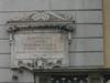 Lapide dedicata a Giovanni Lanza. Fotografia di Elena Francisetti, 2010. © MuseoTorino