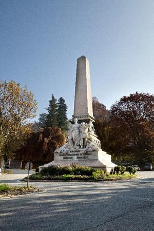 Luigi Belli, Monumento alla spedizione di Crimea, 1888. Fotografia di Mattia Boero, 2010. © Museo