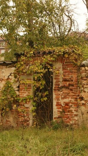 Portone Sud di accesso alla cascina Mirafiori. Fotografia di Edoardo Vigo, 2012.
