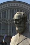 Busto di Ernesto Balbo Bertone Conte di Sambuy. Fotografia di Giuseppe Caiafa, 2011.