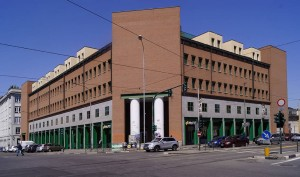 Casa Aurora: alloggi e uffici. Fotografia di Luca Davico, 2017 in www.immaginidelcambiamento.it
