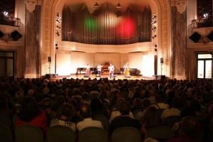 Sala dei concerti del Conservatorio Giuseppe Verdi. Fotografia di Ivan Vittone, 2011. © MITO SettembreMusica
